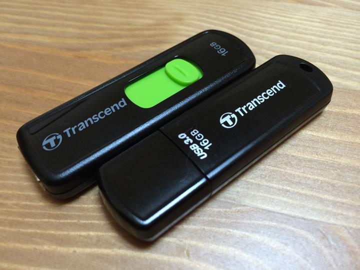 アマゾン限定トランセンド社USBメモリ