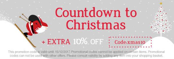 Trekkinnクリスマス10%割引クーポン